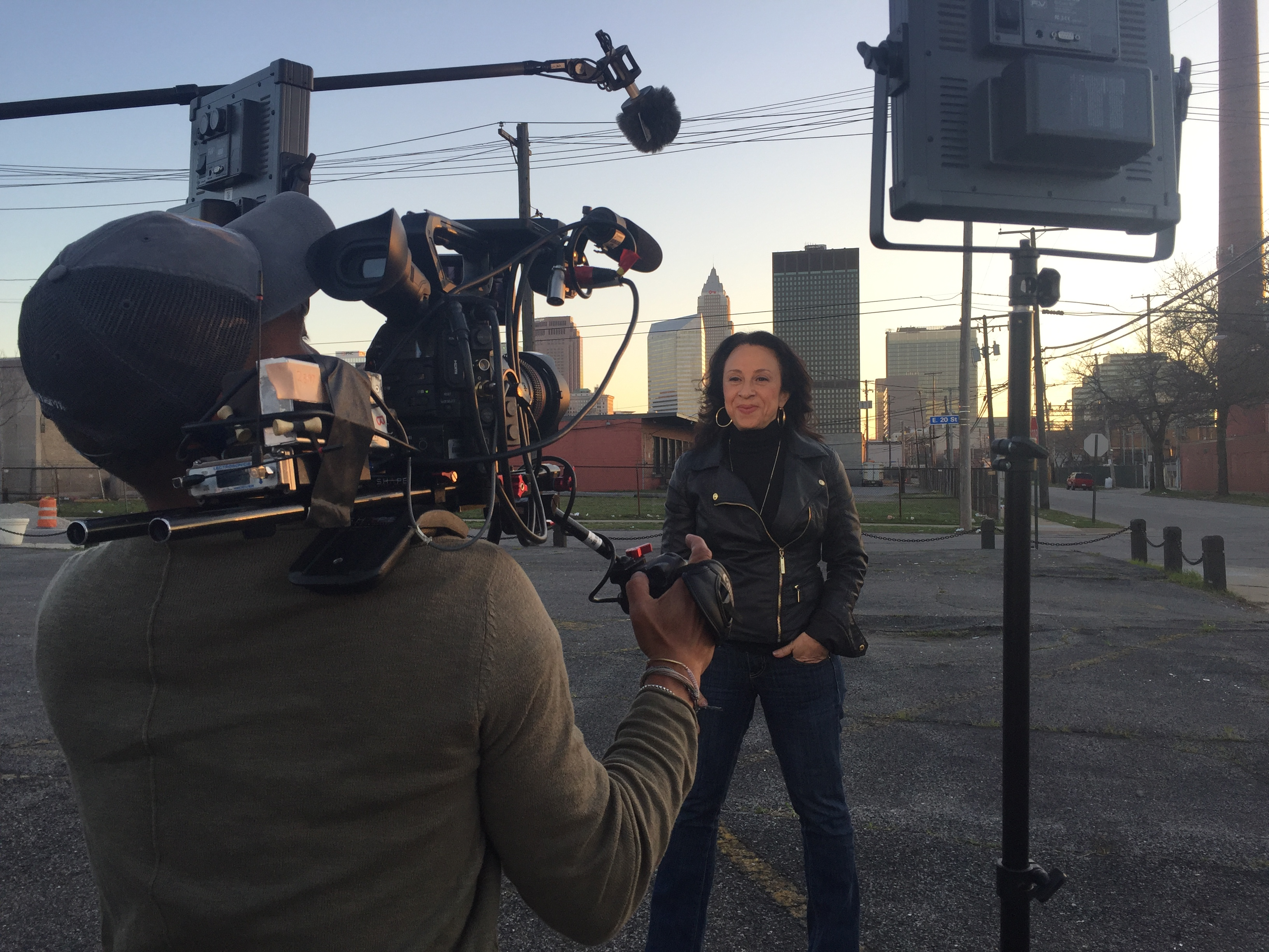 Maria Hinojosa in Cleveland, America ByThe Numbers
